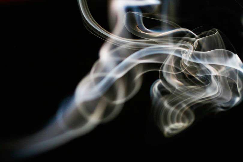 Νόσος Buerger - εικόνα με καπνό